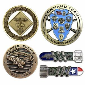 "2"" Die Cast Challenge Coin Custom"