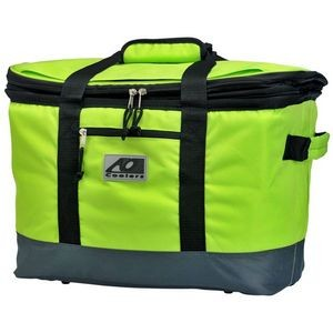 AO Collapsible Insulated Basket Lime green
